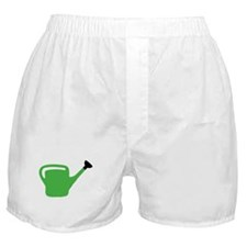 green watering can Boxer Shorts