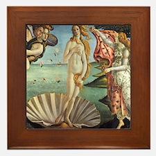 Birth of Venus by Botticelli Framed Tile