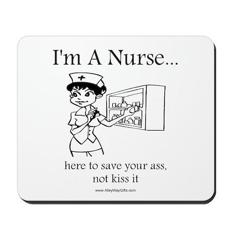 I'm A Nurse Mousepad