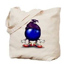 Unique Bowling ball Tote Bag