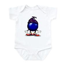 Unique Bowler Infant Bodysuit