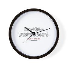 Erectile Dysfunctional Wall Clock
