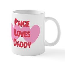 Paige Loves Daddy Small Mug