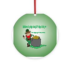 Lucky Irish Ornament (Round)