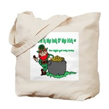 Lucky Irish Tote Bag