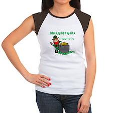 Lucky Irish Women's Cap Sleeve T-Shirt