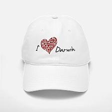 I Heart Darwin Baseball Baseball Cap