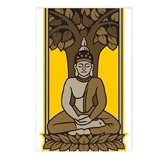 Buddha Under Bodhi Tree Postcards (Package of 8)