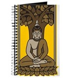 Buddha under bodhi tree Journals & Spiral Notebooks