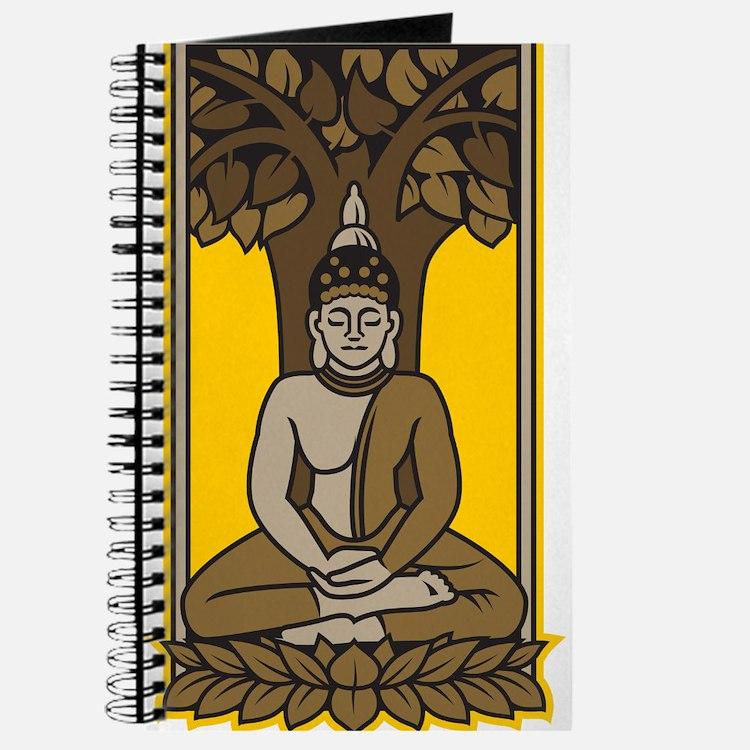Buddha Under Bodhi Tree Journal