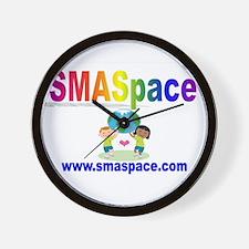 SMASpace Rainbow Design Wall Clock