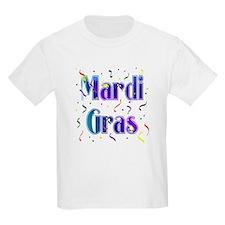 Mardi Gras With Confetti T-Shirt