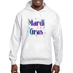 Mardi Gras With Confetti Hoodie
