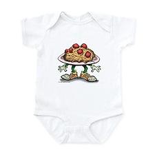 Cute Dinner Infant Bodysuit
