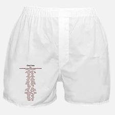 Diarreah Definition Boxer Shorts