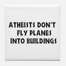 Atheist Truth Tile Coaster