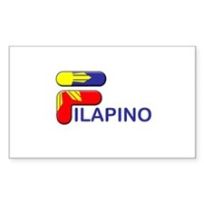 Filapino Rectangle Decal