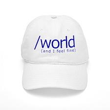 End of the World Baseball Cap