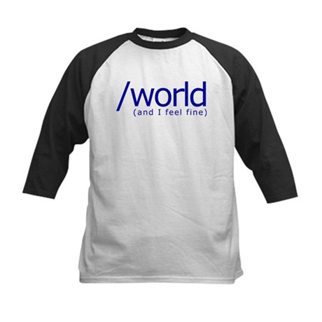 End of the World Kids Baseball Jersey