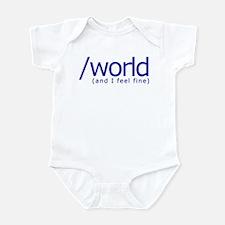 End of the World Infant Bodysuit
