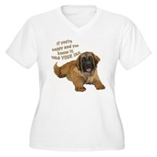 leonberger puppy wag T-Shirt