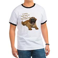 leonberger puppy wag T