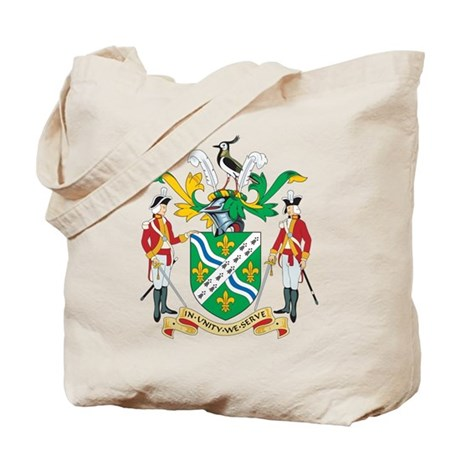 Lincolnshire Coat of Arms Tote Bag
