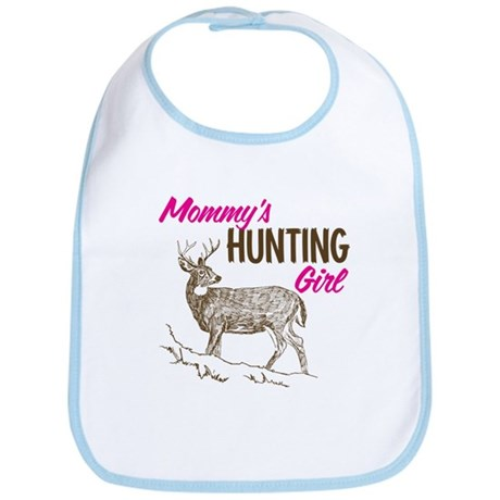 Mommy's Hunting Girl Bib