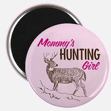 Mommy's Hunting Girl Magnet