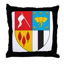 Brazzaville Coat of Arms Throw Pillow