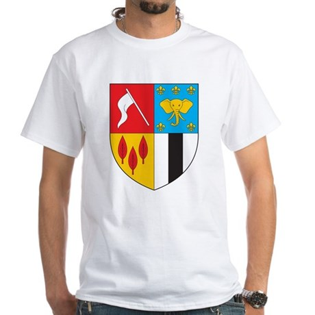 Brazzaville Coat of Arms White T-Shirt
