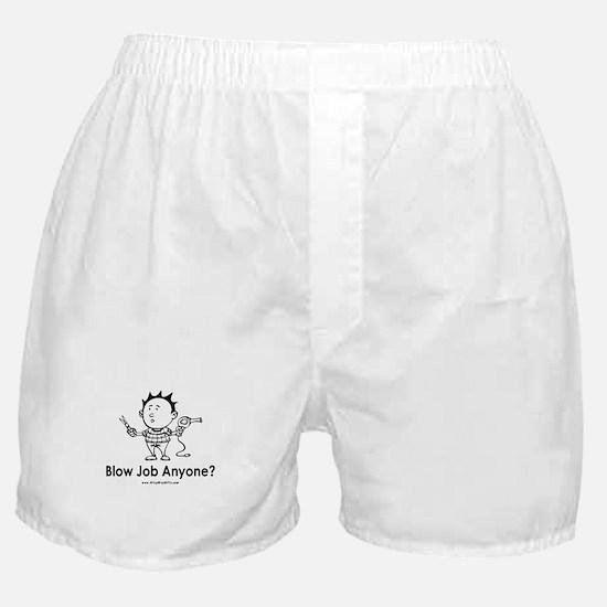Hair Blow Boxer Shorts