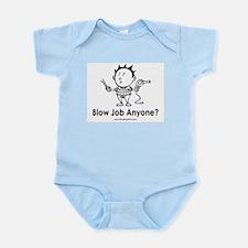 Hair Blow Infant Bodysuit