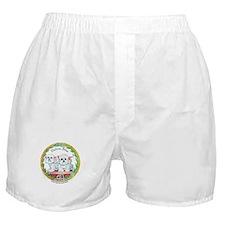 Bichon Frise Crest Boxer Shorts