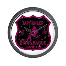 Tap Dancer Diva League Wall Clock