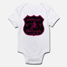 Swing Dancer Diva League Infant Bodysuit