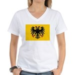Holy Roman Empire Flag Women's V-Neck T-Shirt