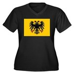 Holy Roman Empire Flag Women's Plus Size V-Neck Da