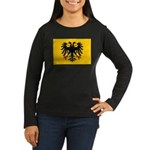Holy Roman Empire Flag Women's Long Sleeve Dark T-