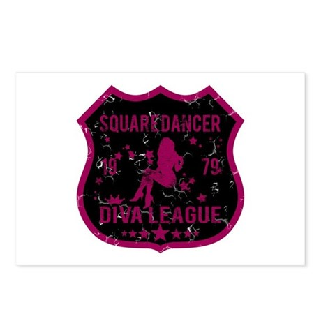 Square Dancer Diva League Postcards (Package of 8)