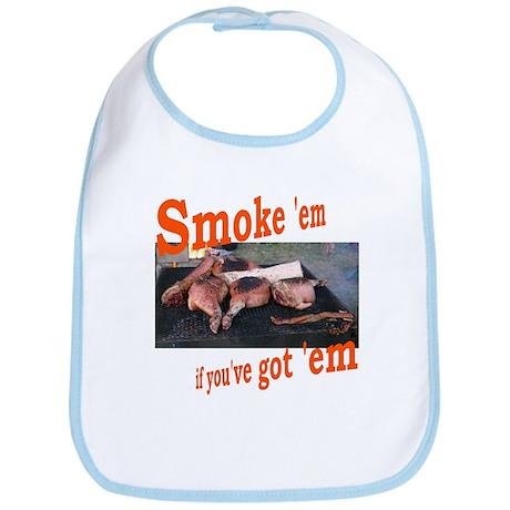 Smoke 'em Bib