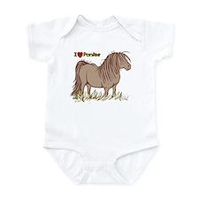 I Love Ponies Infant Bodysuit