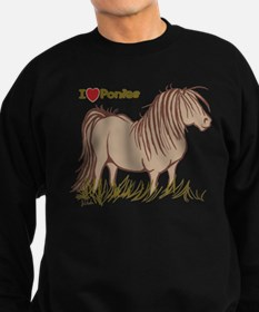 I Love Ponies Sweatshirt