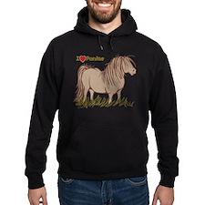 I Love Ponies Hoodie