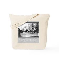 Vintage Photo of NYC Fire Brigade 1911 Tote Bag