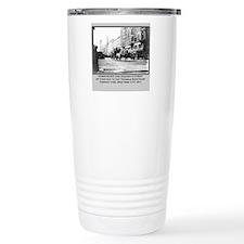 Vintage Photo of NYC Fire Brigade 1911 Travel Mug