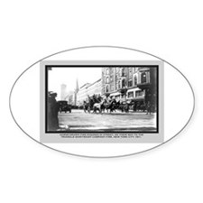 Vintage Photo of NYC Fire Brigade 1911 Decal