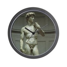 Statue of David by Michelangelo Wall Clock