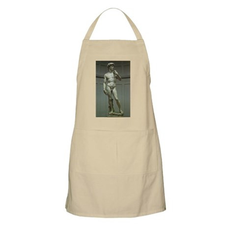 Statue of David by Michelangelo Apron