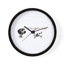 Petit Basset Griffon Vendeen Wall Clock